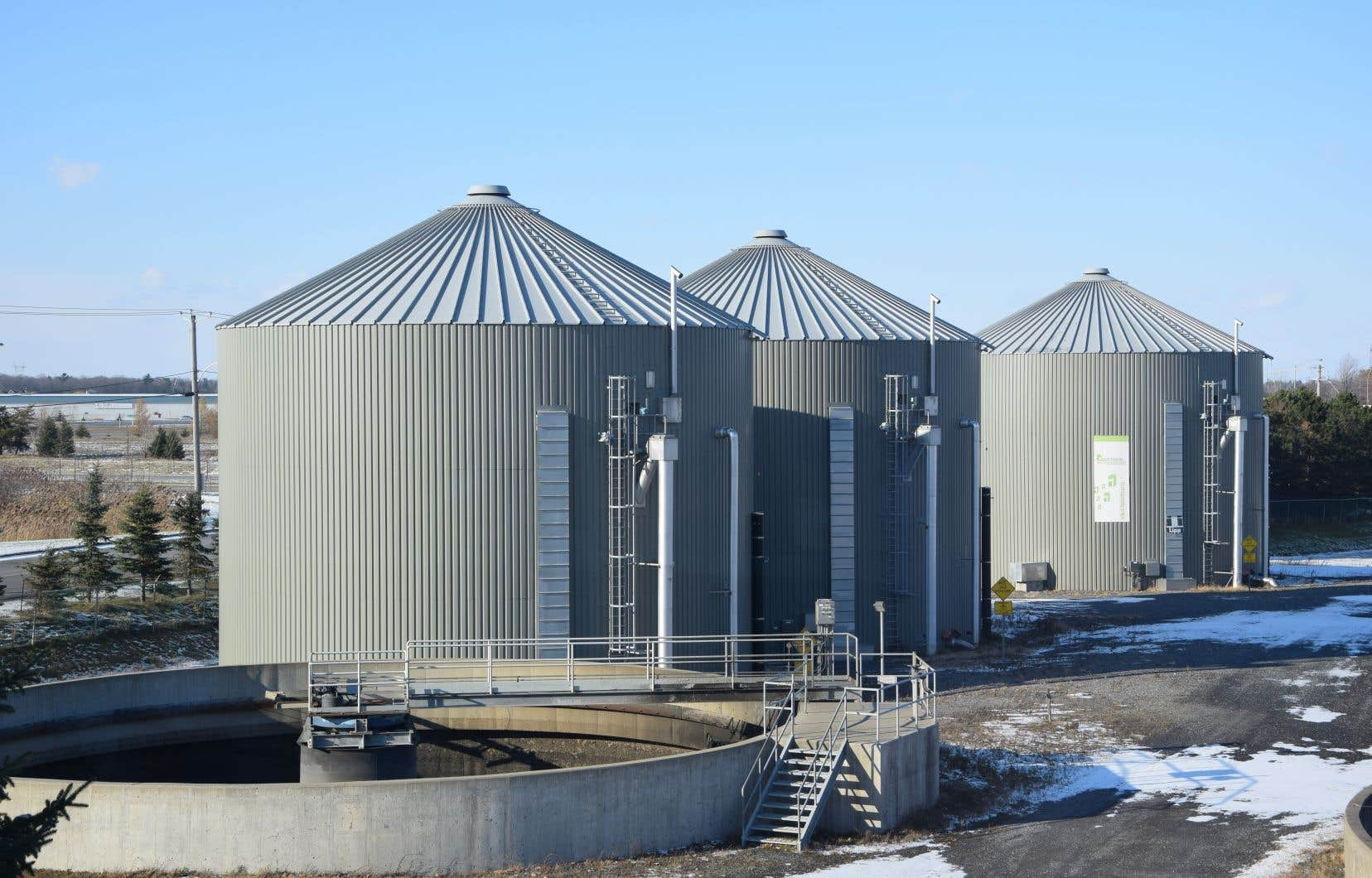 La biométhanisation permet de transformer les déchets organiques en biogaz, comme le fait la Ville de Saint-Hyacinthe.