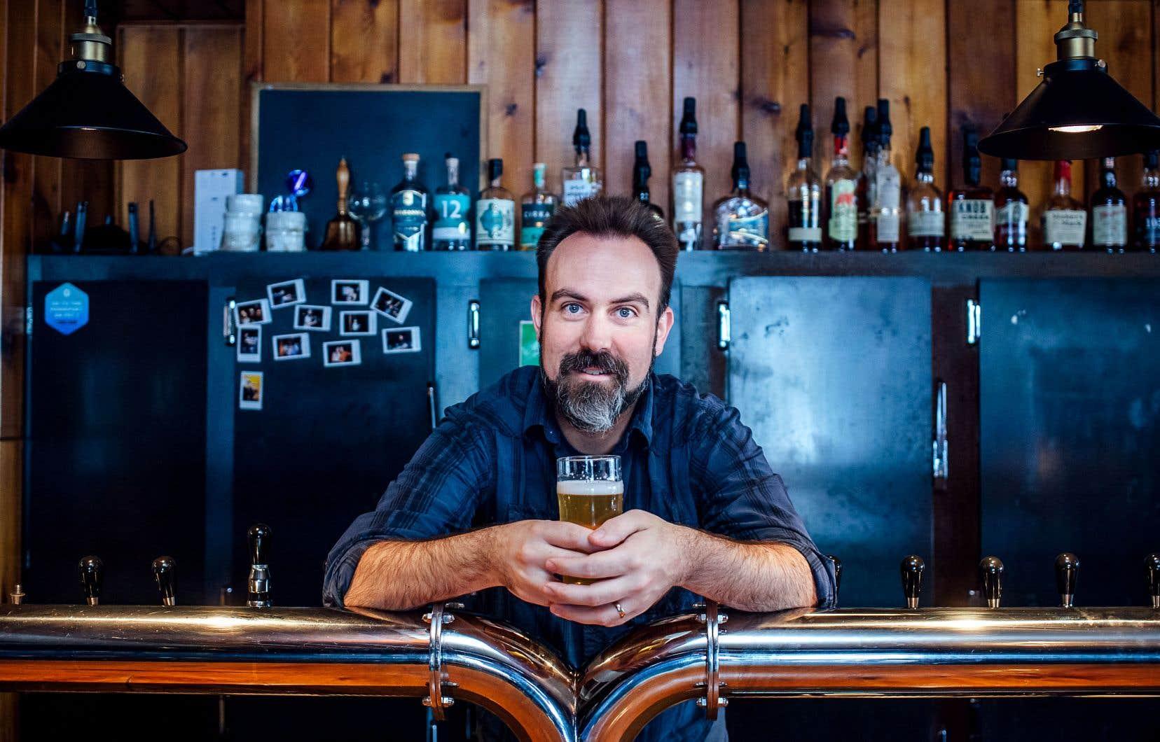Martin Thibault lancera la semaine prochaine «Le goût de la bière fermière».