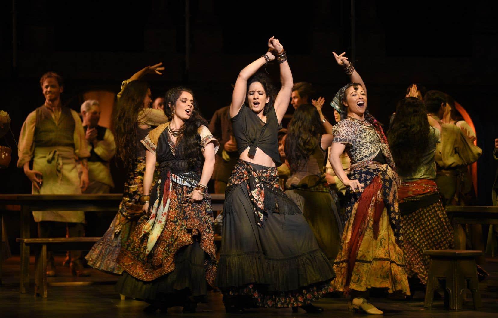 Krista de Silva interprète Carmen, dans l'opéra du même nom qui prendra l'affiche samedi à l'Opéra de Montréal.