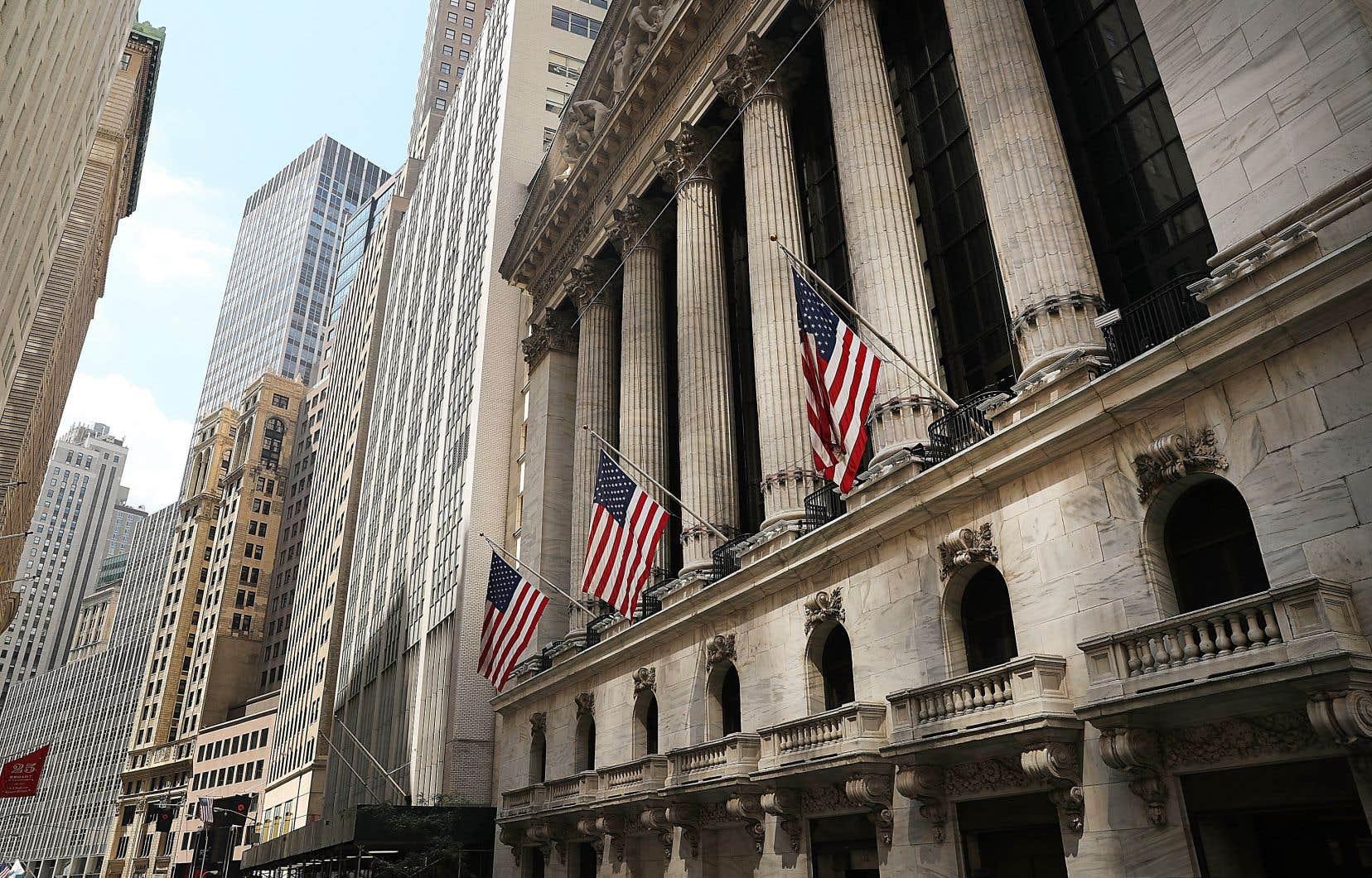 Le bâtiment de la Bourse de New York. La future génération de dirigeants d'entreprise semble se laisser gagner par les idées de changement.