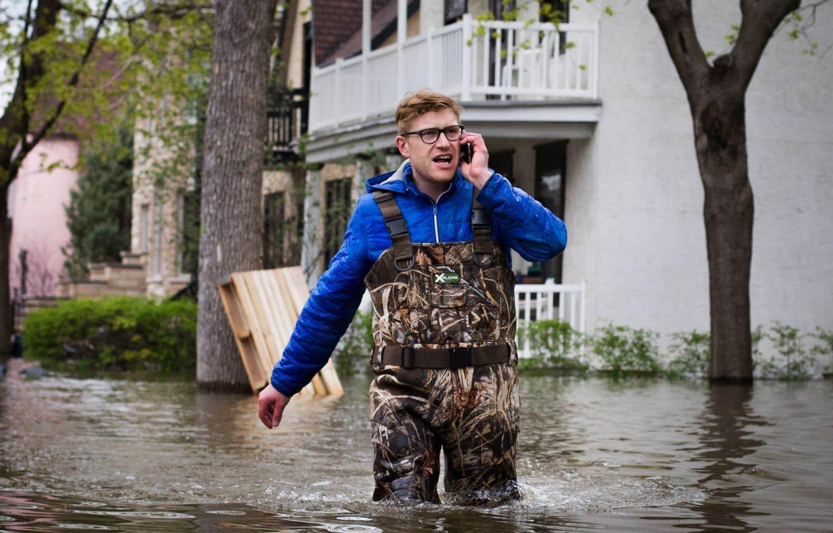 L'arrondissement Ahuntsic-Cartierville avait été durement touché par les inondations en 2017.