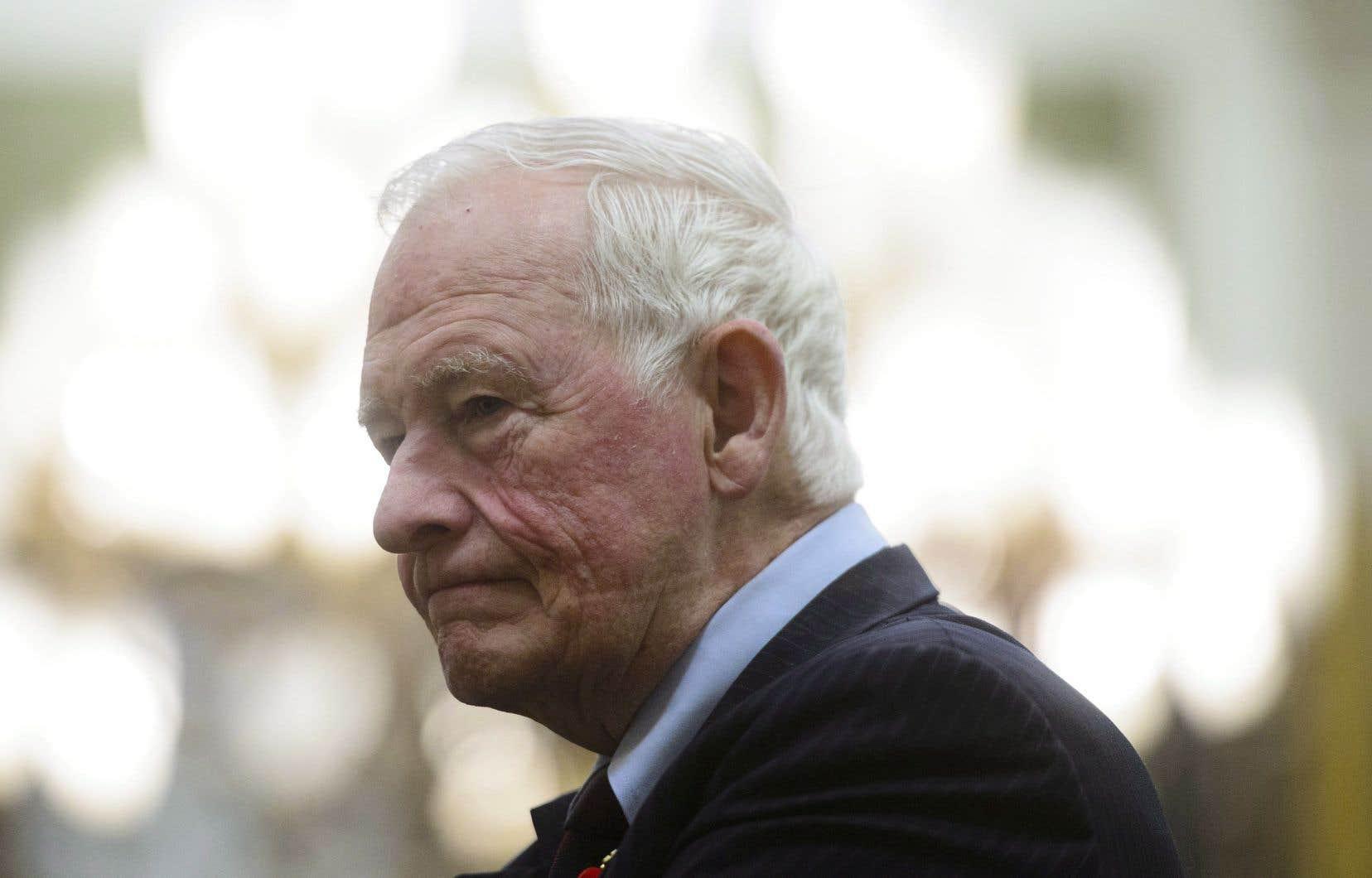 L'ancien gouverneur général David Johnston préside la toute première Commission aux débats des chefs.