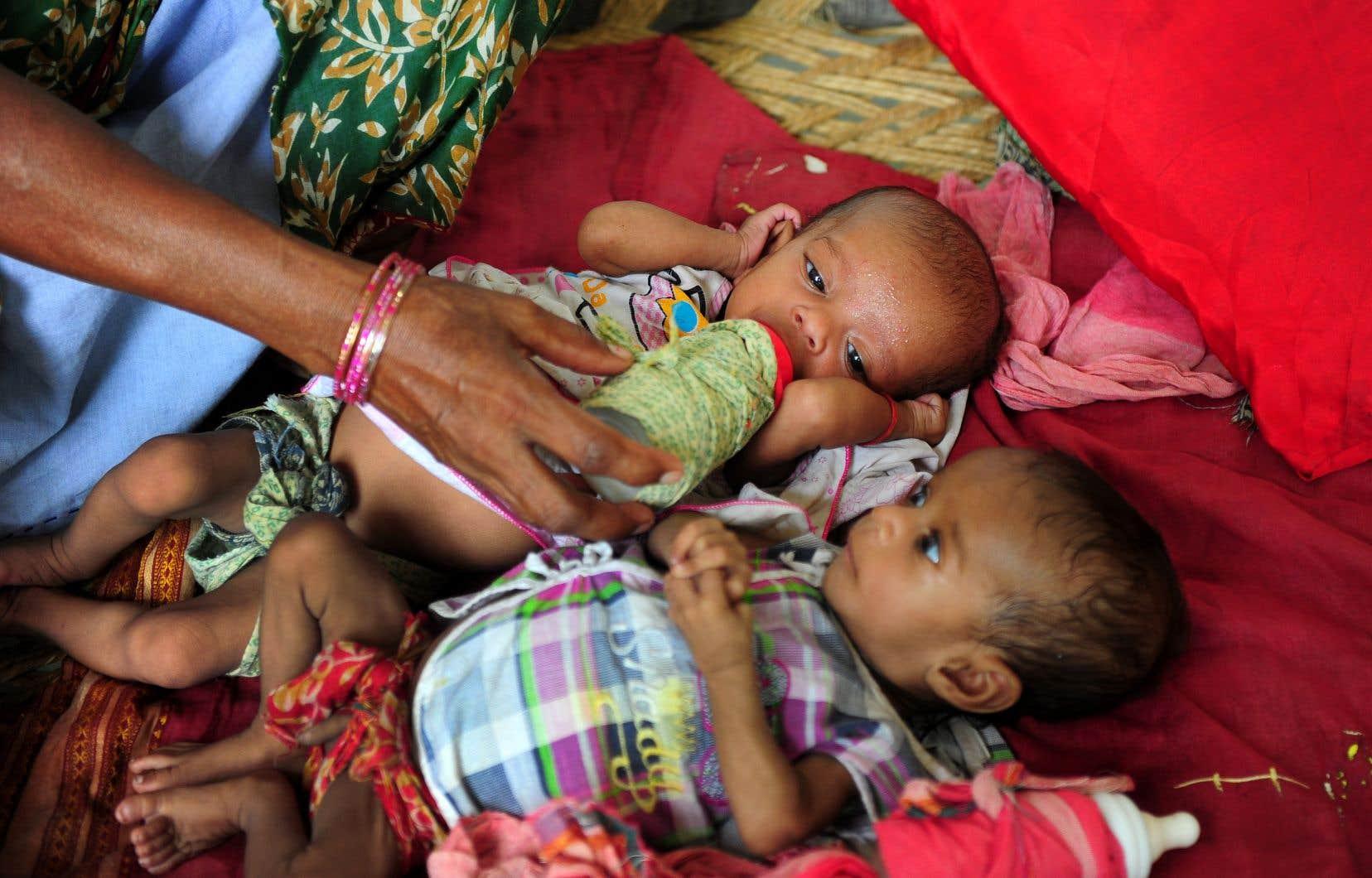 Il y a un millier de jumeaux pour 11000 habitants danscette petite ville en Inde.