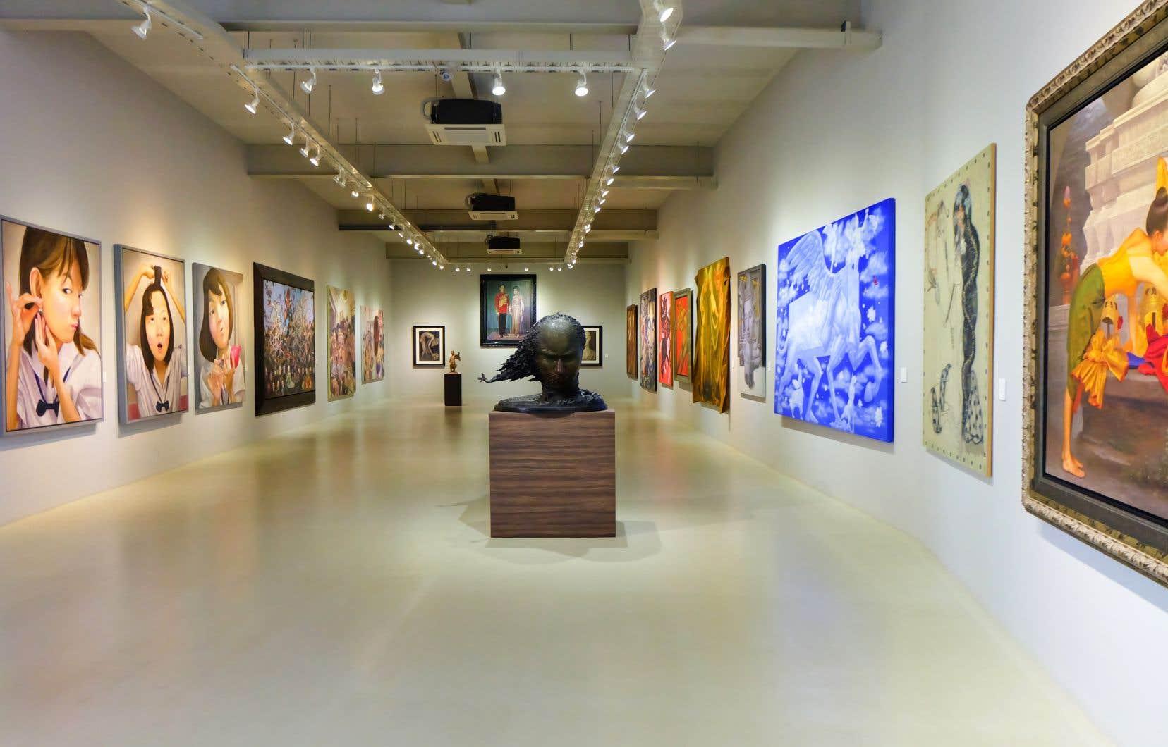 «Les musées nationaux et les musées privés du Québec auraient cependant des raisons de se pencher sur cette manière de faire évoluer leur collection plutôt que d'afficher un