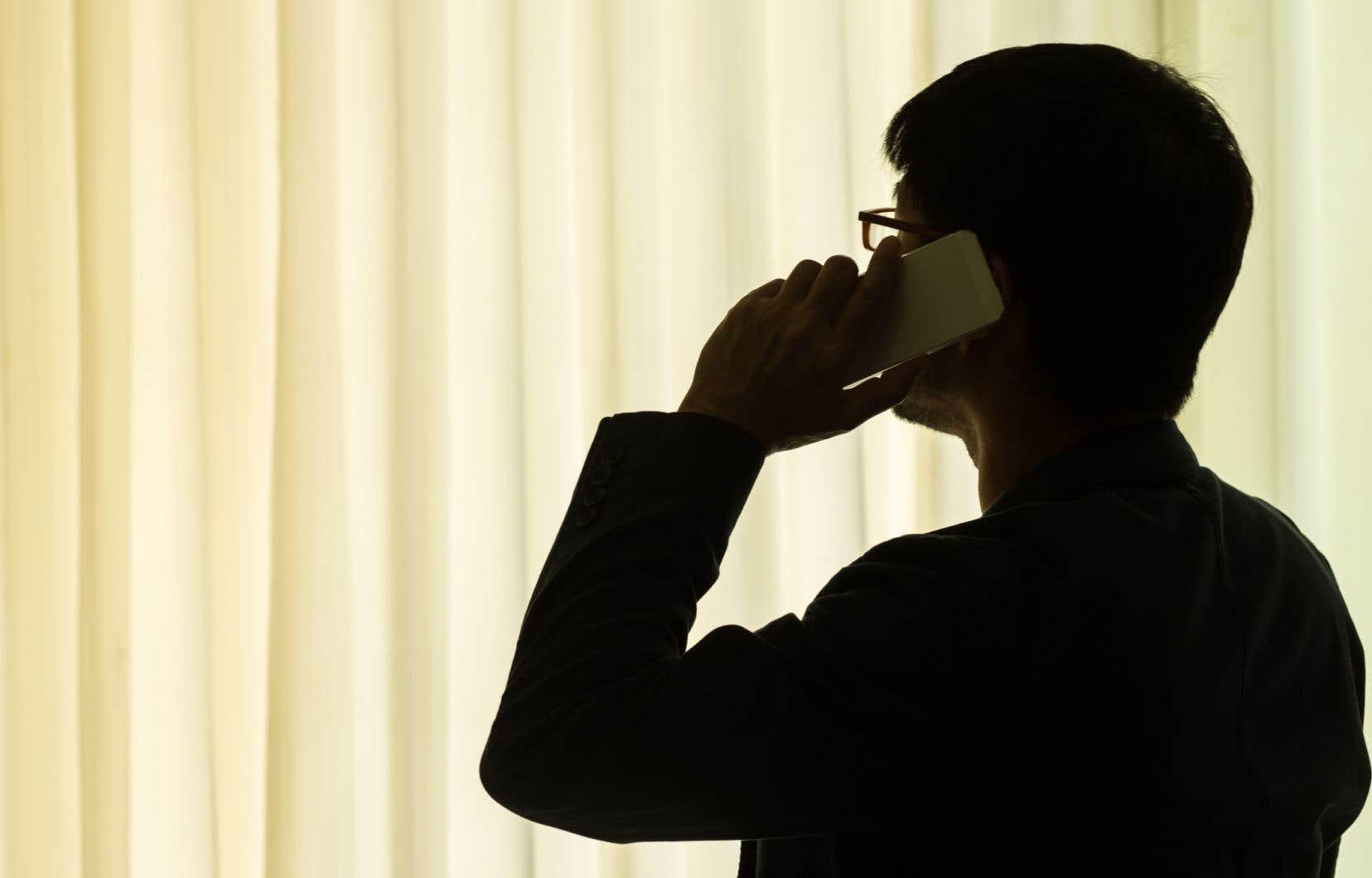 Dans certains ministères, au-delà d'un certain seuil de volume d'appels, l'option de parler à un agent n'était plus offerte.