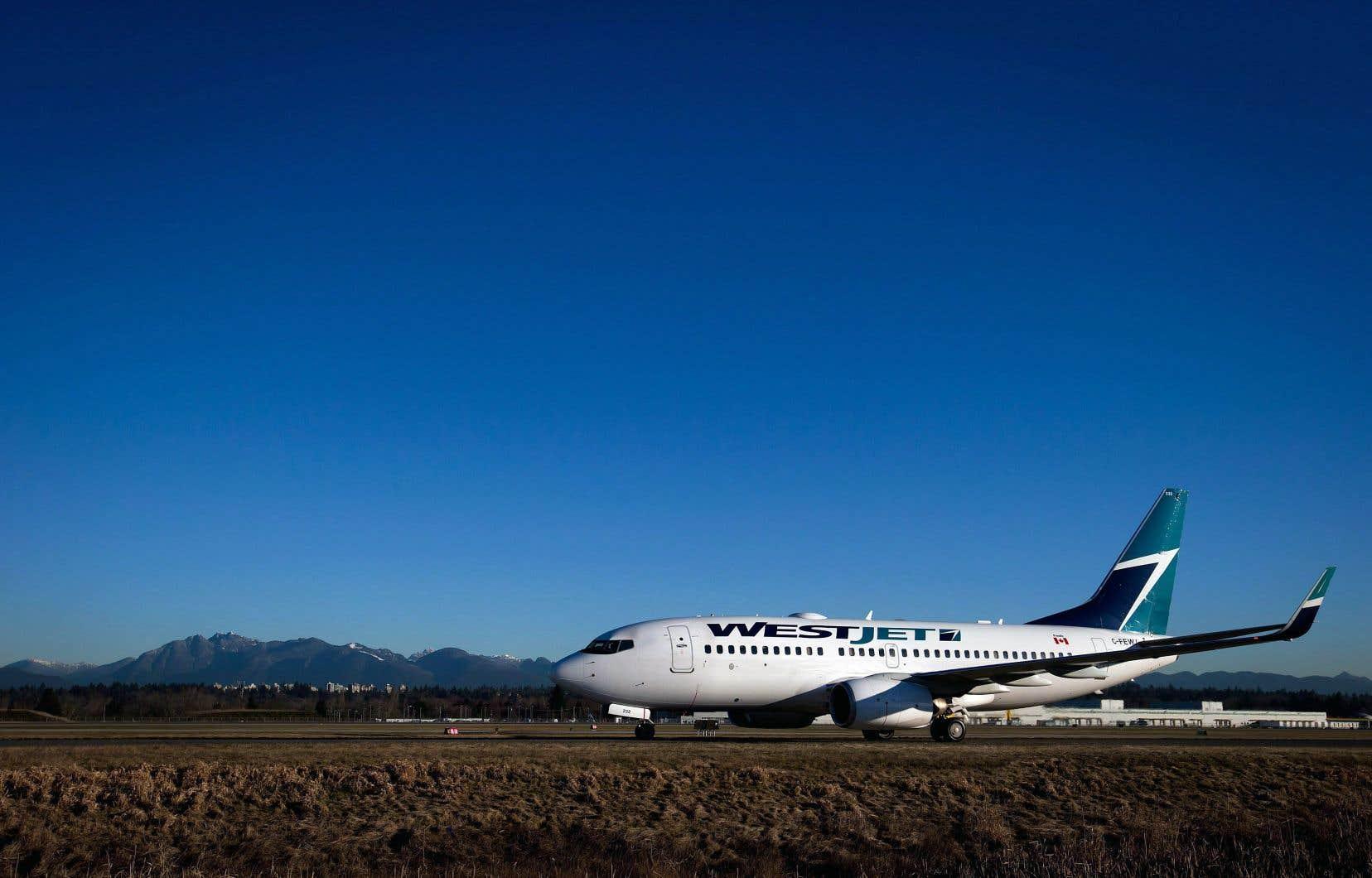 Les profits du transporteur aérien WestJet ont augmenté de 30% au premier trimestre.
