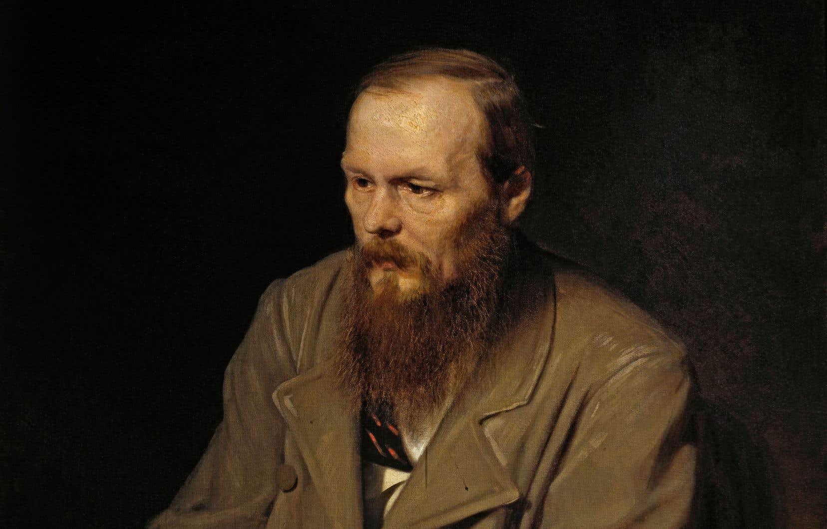 Portrait de Dostoïevski en 1872, peint par Vasily Perov