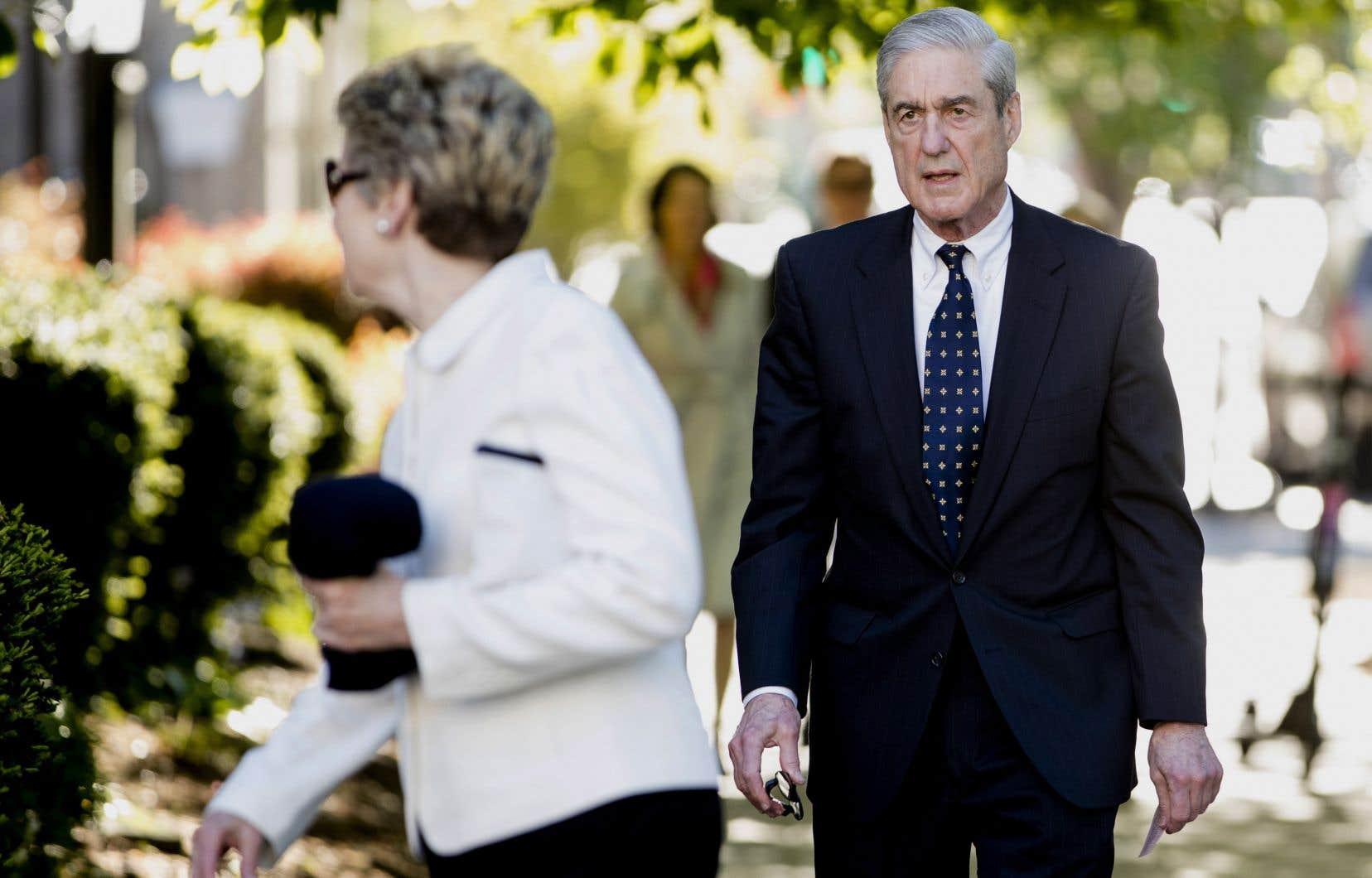 Le procureur spécial Robert Mueller