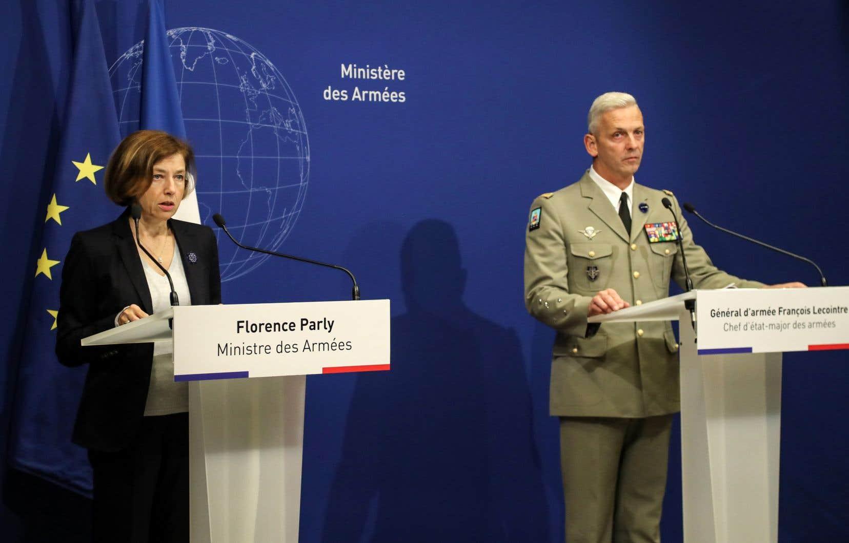 Cette libération a pu être obtenue grâce à «une opération d'une très grande complexité», a déclaré vendredi la ministre française Florence Parly.