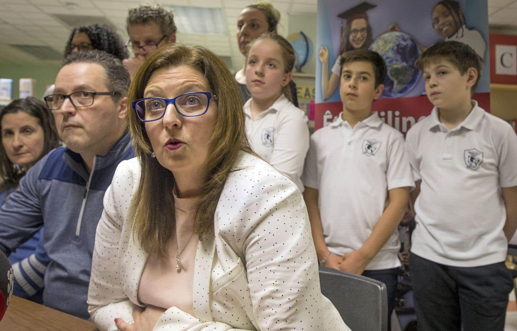 Angela Mancini, présidente de la CSEM, considère que le ministre Roberge a agi de façon précipitée.