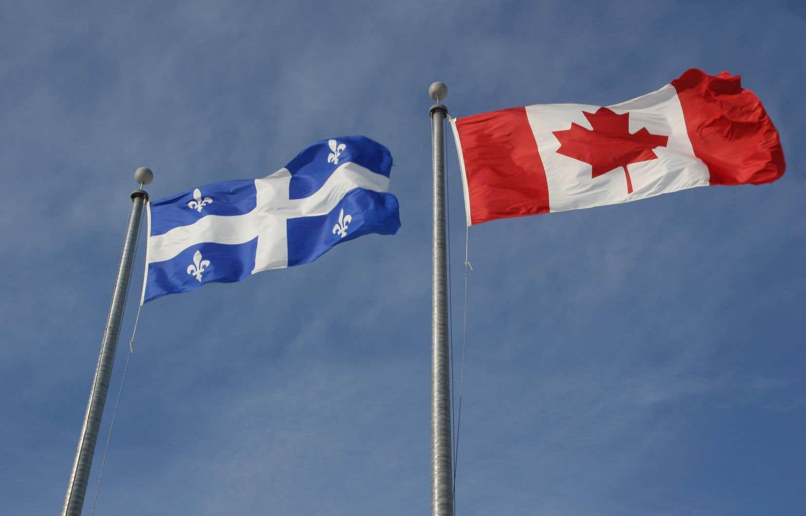 «Le Québec, nation et société distincte, qui par une loi sur la laïcité déroge à la politique canadienne, n'est pas de ce seul fait raciste et islamophobe», affirme l'auteur.