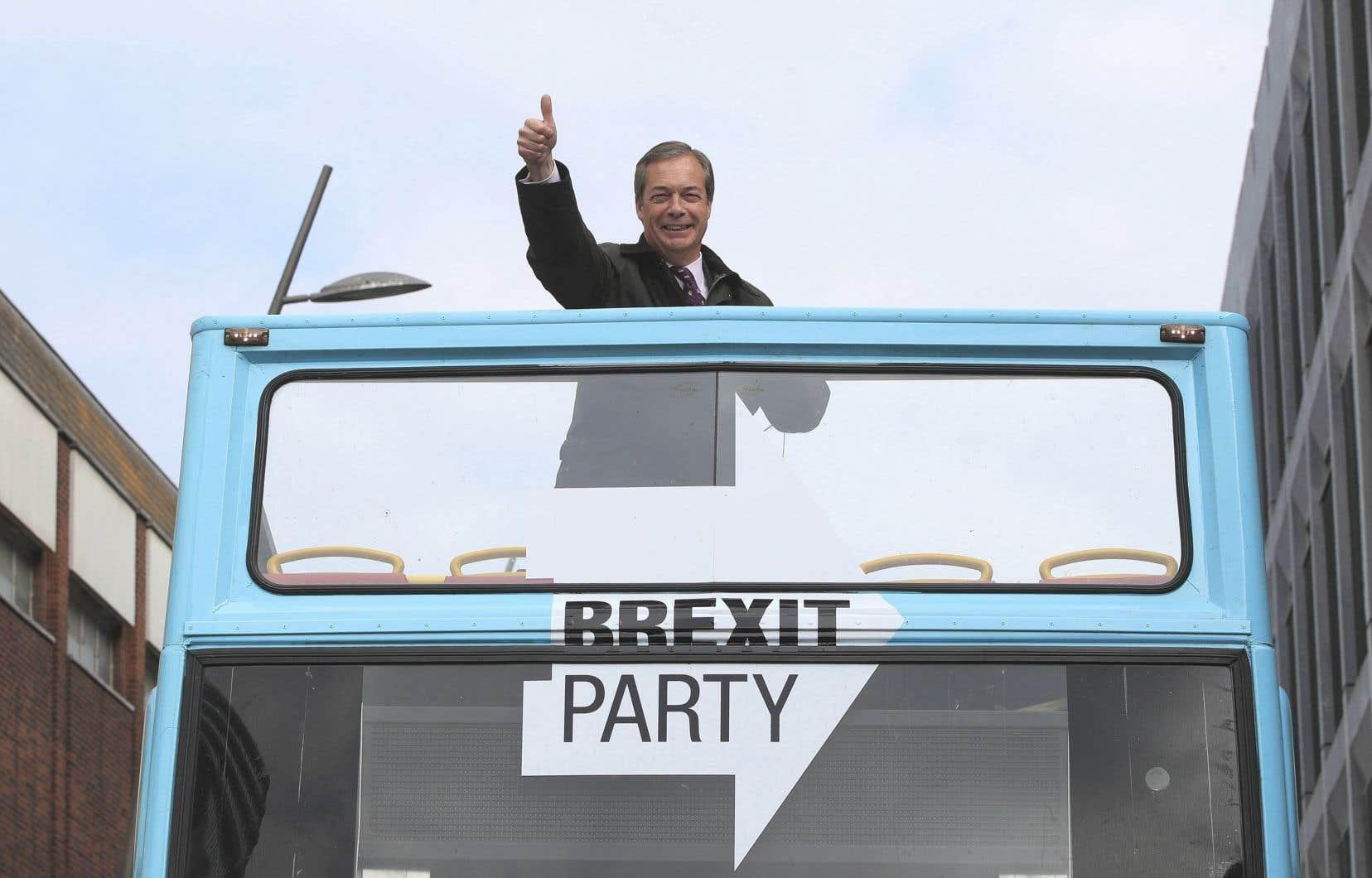 Par rapport au précédent sondage, le Parti du Brexit double son avance sur le Parti travailliste.