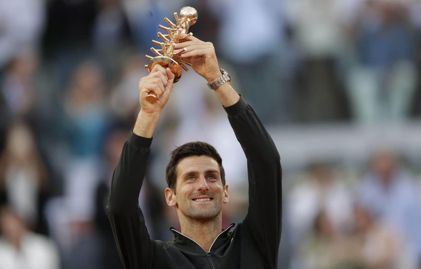 Novak Djokovicn'avait pas gagné dans la capitale espagnole depuis 2016, et son titre précédent à Madrid avait été acquis en 2011.