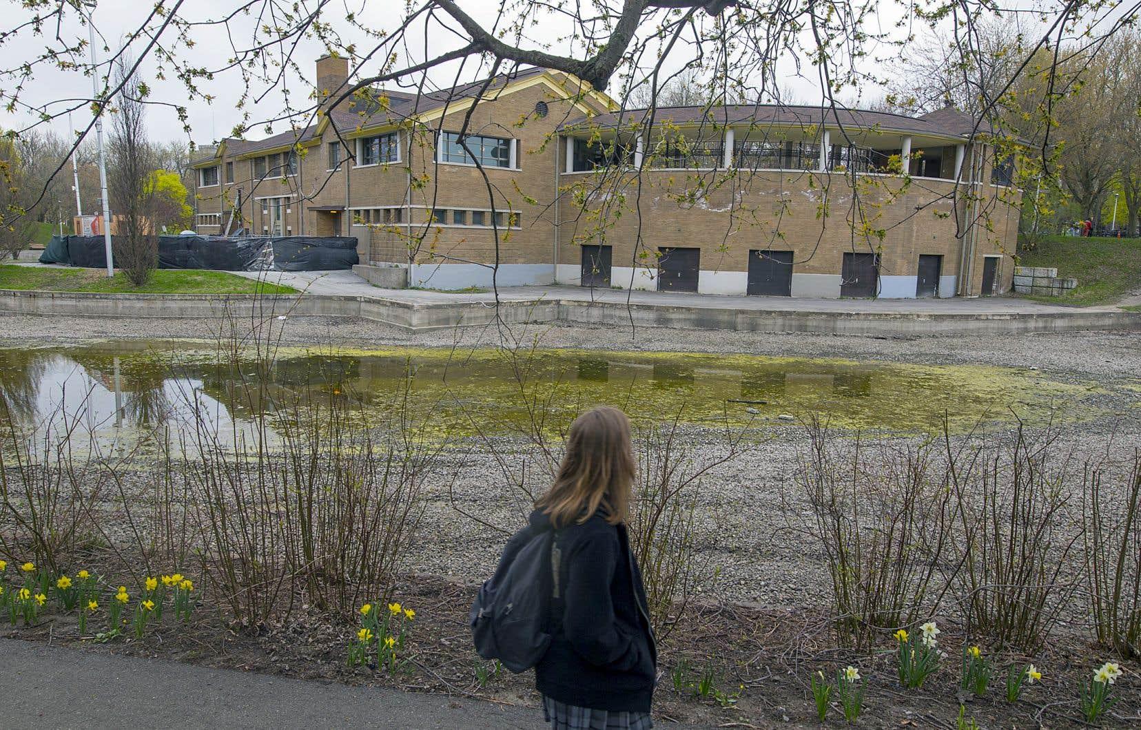 Le coût total des travaux de réfection du chalet du parc La Fontaine atteint maintenant 4,5 millions.
