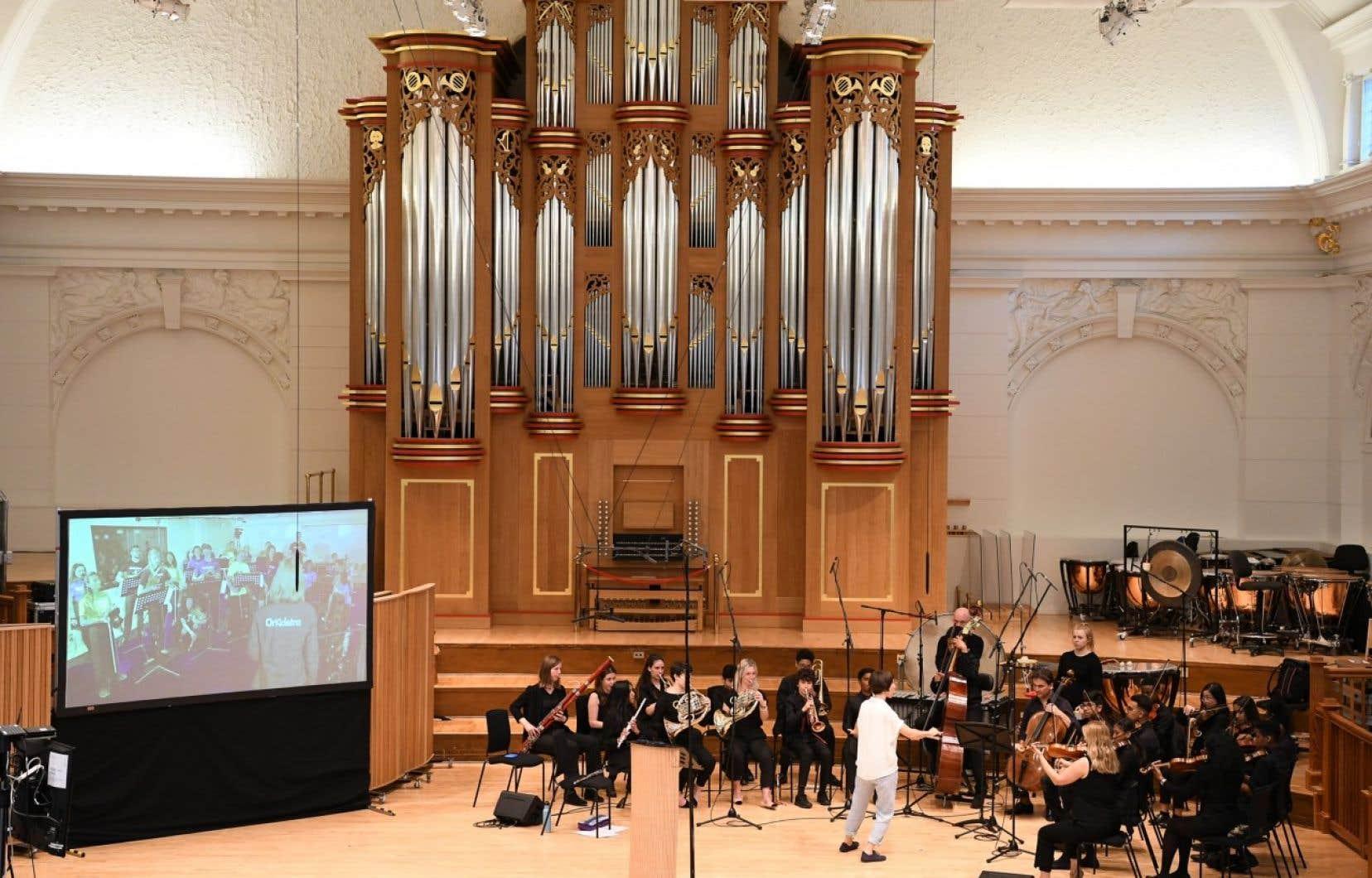 Alexander Shelley a lancé unambitieux programme de 60 activités éducatives au Royal College of Music de Londres.