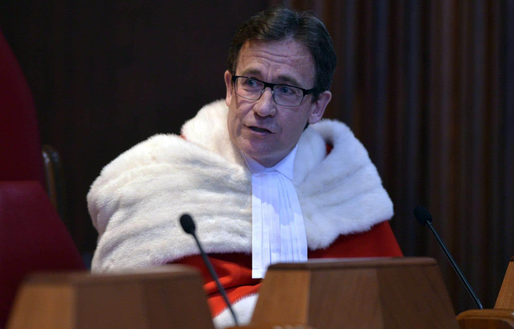 Le juge Clément Gascon quittera ses fonctions le 15 septembre prochain.