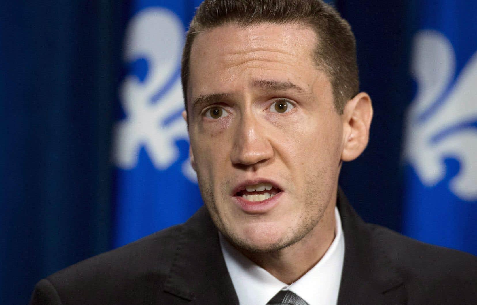Le ministre de l'Environnement du Québec, Benoit Charette
