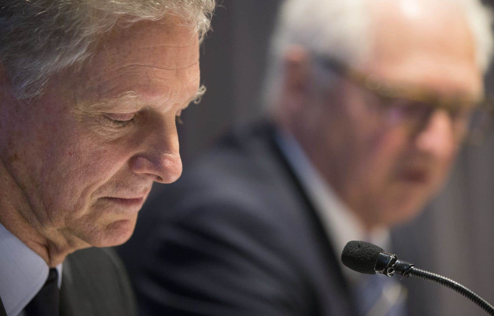 Le président du conseil de Power Corporation, Paul Desmarais Jr, a estimé que la décision du gouvernement fédéral pourrait créer un précédent inquiétant.