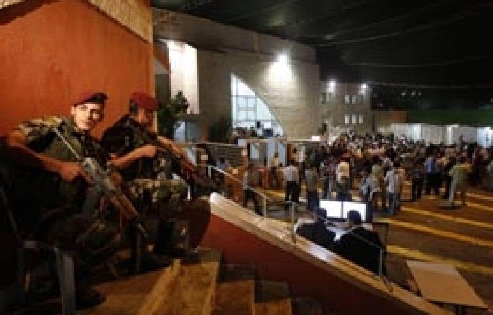 Les congressistes du Fatah étaient sous bonne garde à Bethléem.