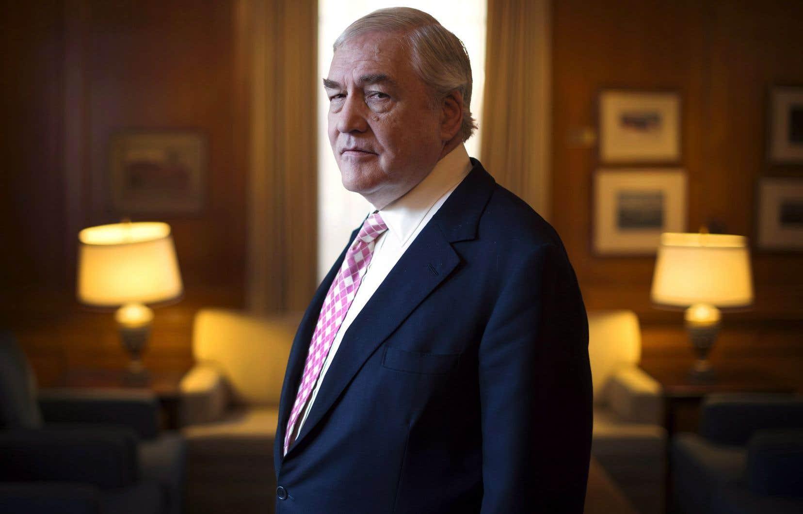 ConradBlack, 74ans, est également connu sous son titre de baron Black de Crossharbour.