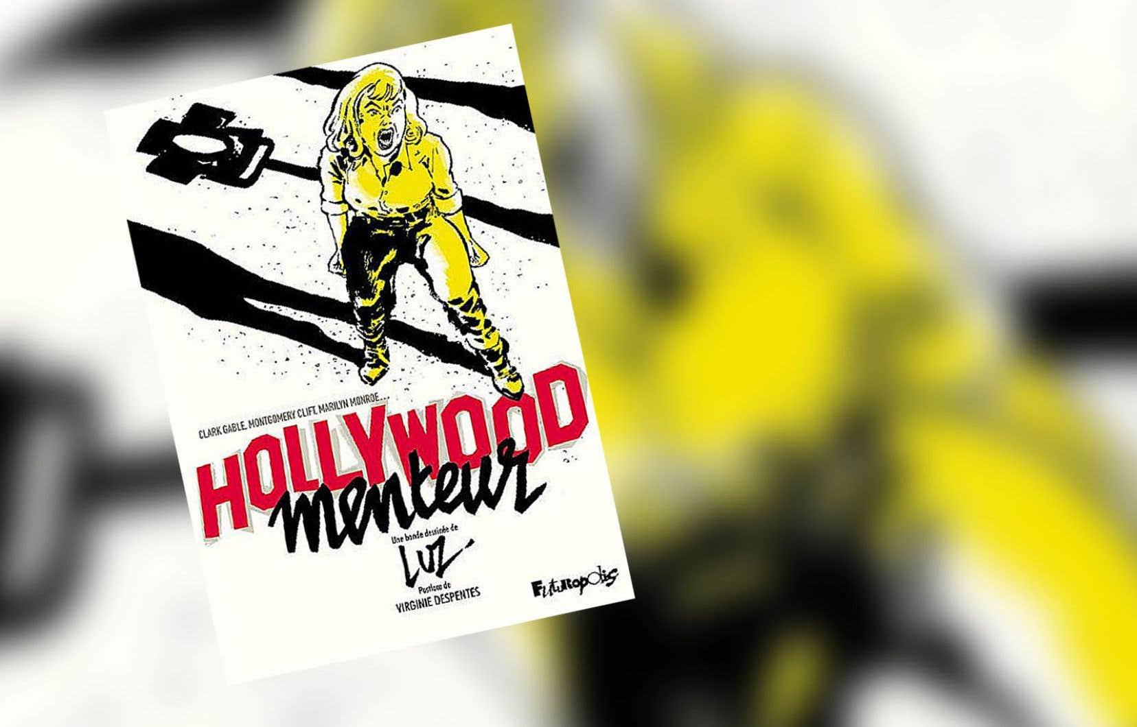 «Hollywood menteur» restitue l'ultime élément dont le spectacle aura dépossédé l'icône hollywoodienne Marilyn Monroe: sa colère.