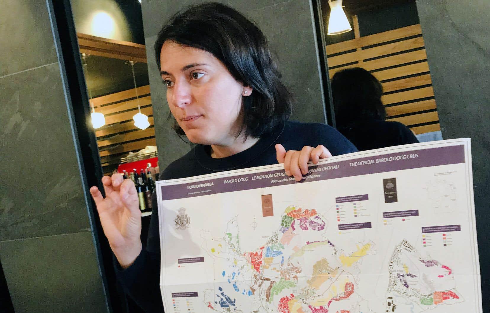 Elisa Scavino connaît le terrain comme sa poche.