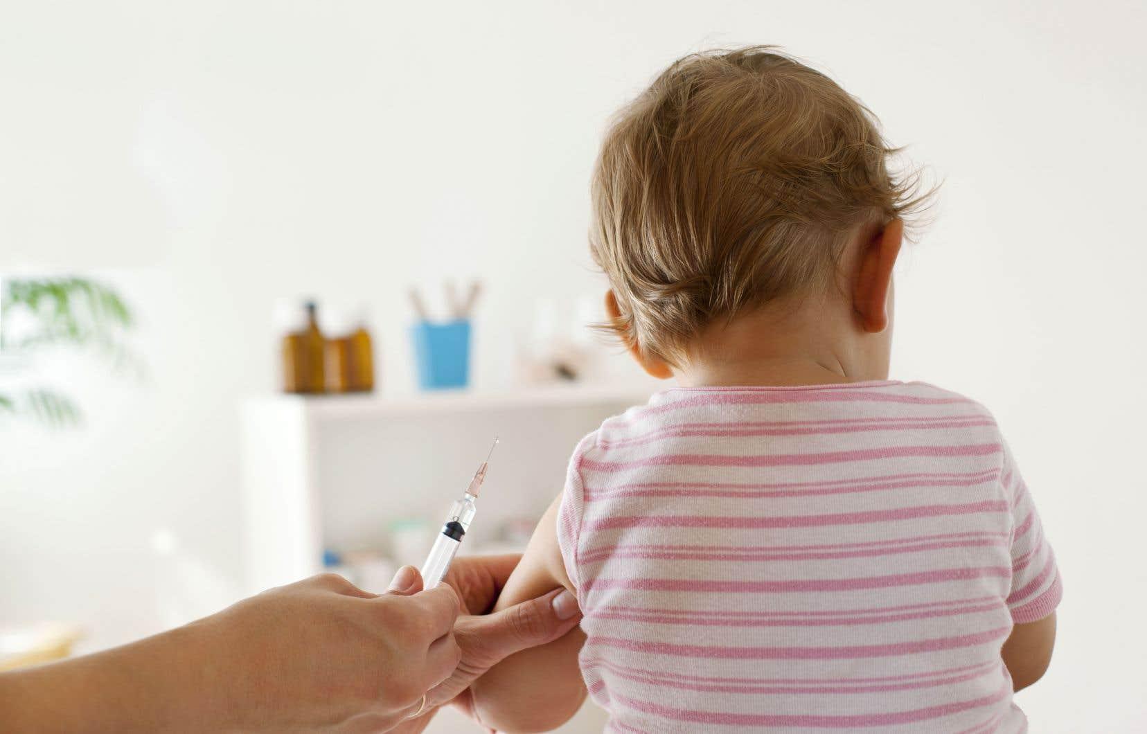 Au Québec, de 90 à 95% des enfants sont vaccinés.