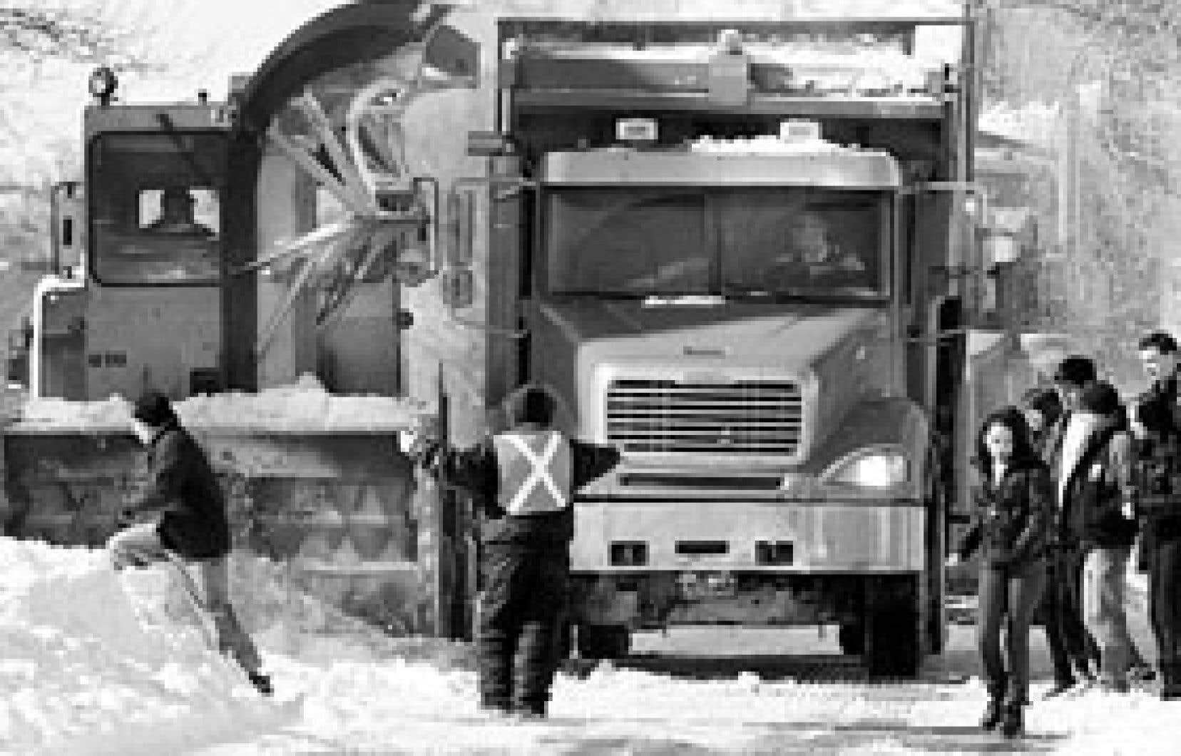 Bientôt, les Montréalais pourront suivre en temps réel  l'avancement des opérations de déneigement dans leur secteur.