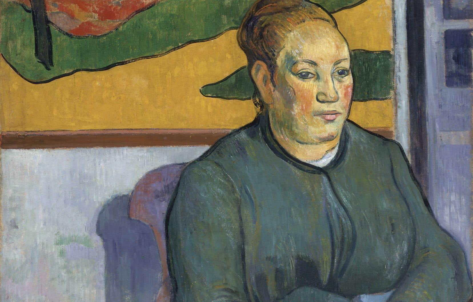 Paul Gauguin, «Portrait de Madame Roulin», 1888, huile sur toile, 50,5 × 63,5 cm
