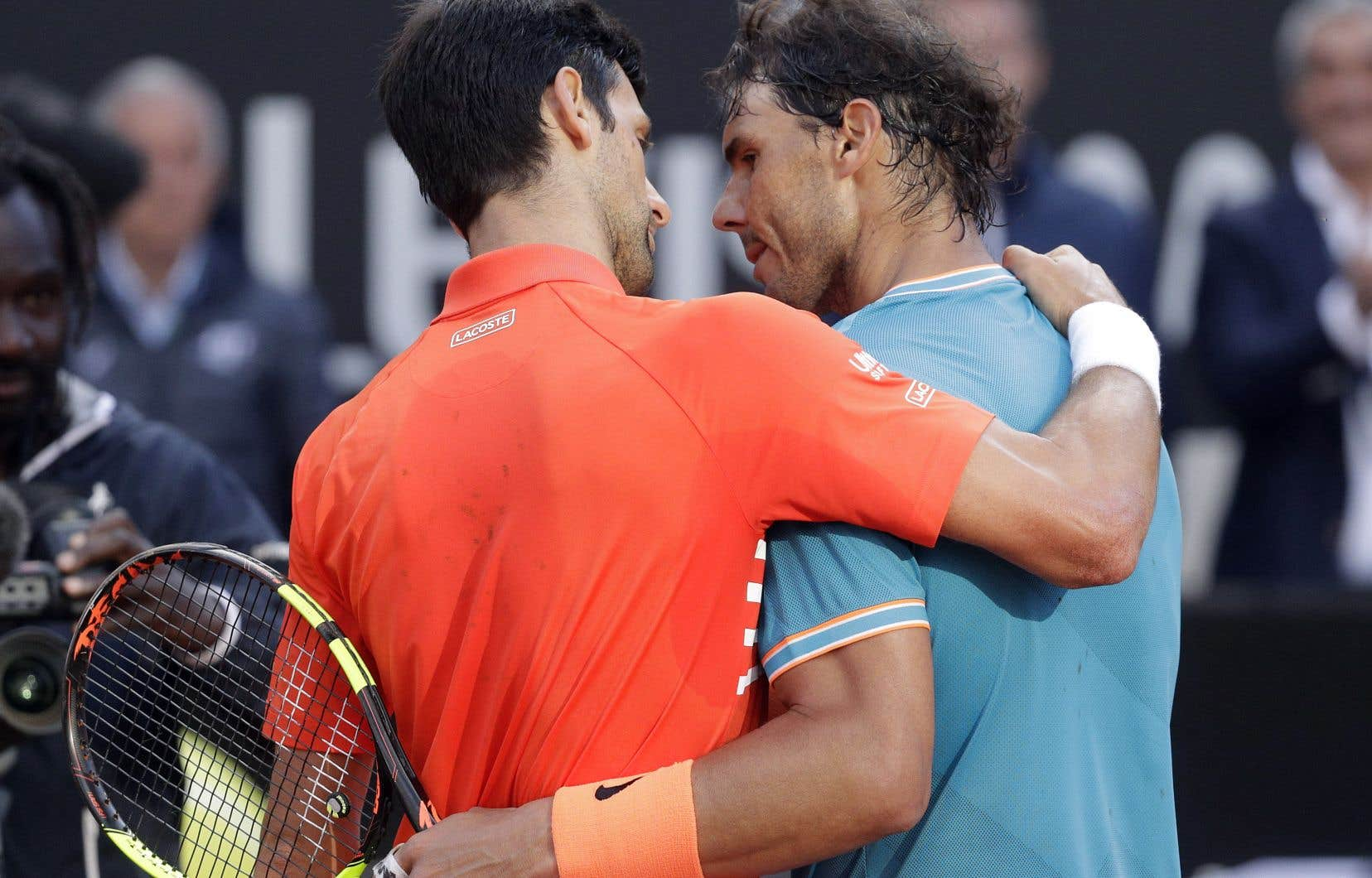 ea392dc724 Novak Djokovic et Rafael Nadal se sont affrontés en finale du tournoi de  Rome, dimanche