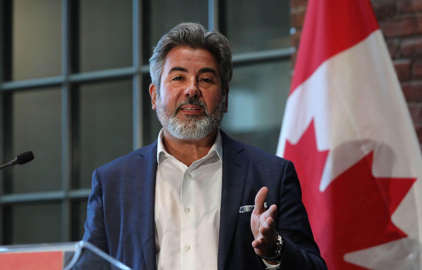 Le ministre du Patrimoine canadien, Pablo Rodriguez