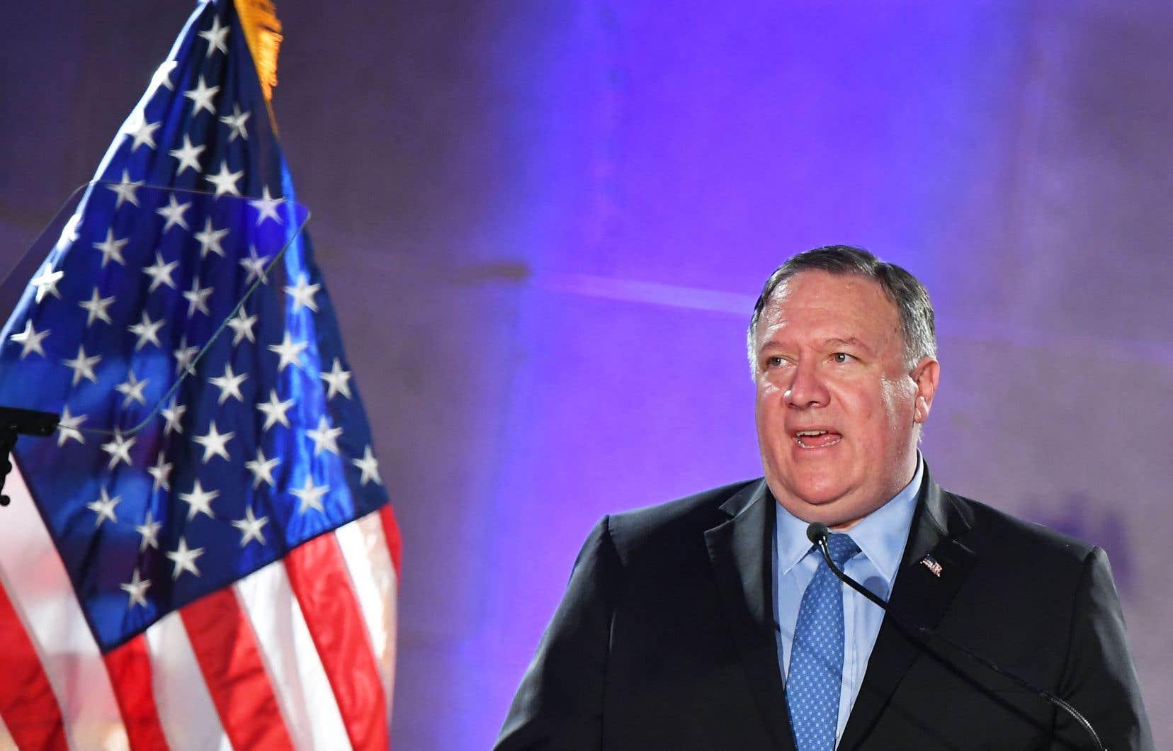 Le secrétaire d'État américain, Mike Pompeo, a accusé Huawei de mentir sur ses véritables liens avec les autorités chinoises.