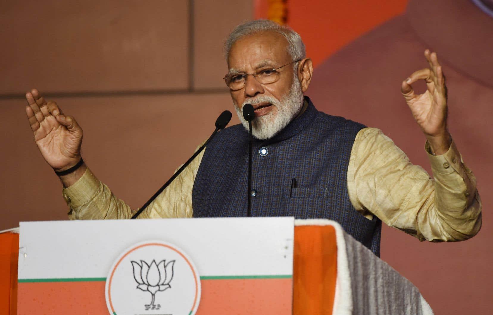 Le premier ministre indien, Narendra Modi