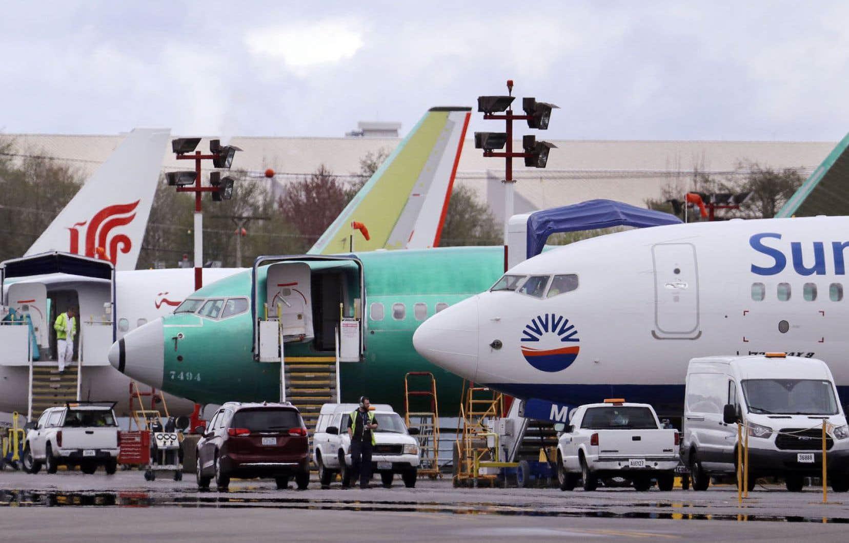Le 737 MAX, l'appareil phare du constructeur américain Boeing, est cloué au sol depuis plus de 70 jours.