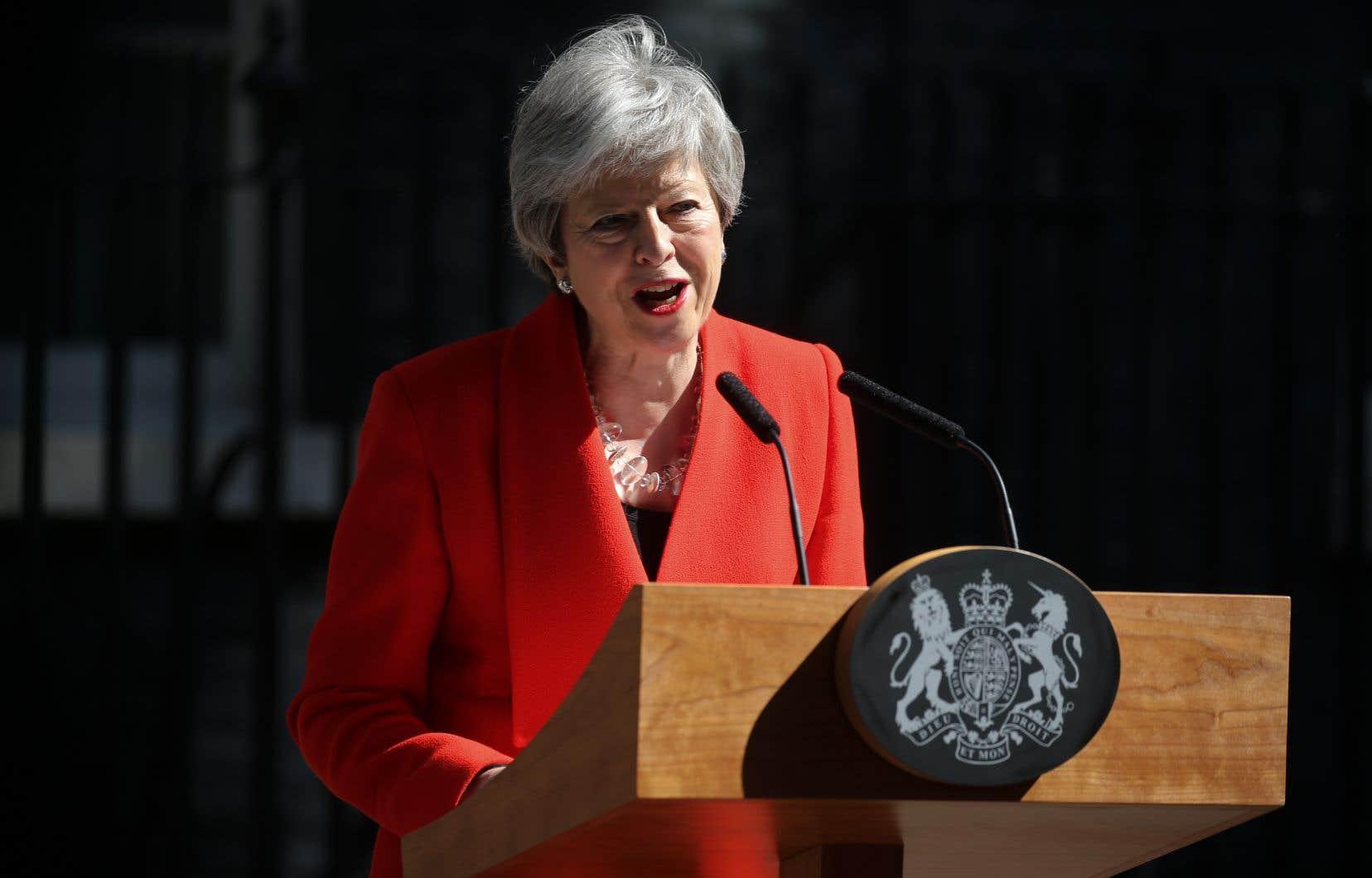 La première ministre britannique a exprimé «un profond regret de ne pas avoir été capable de mettre en œuvre le Brexit».