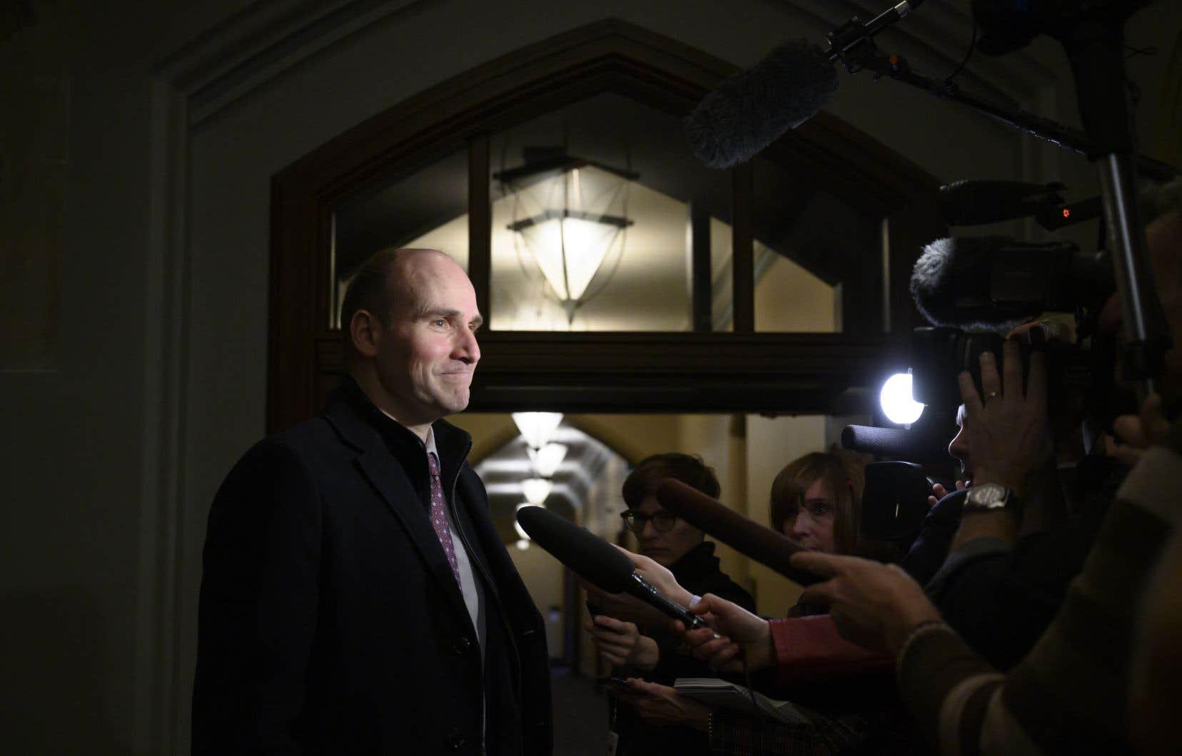 Jean-Yves Duclos, ministre fédéral de la Famille, des Enfants et du Développement social