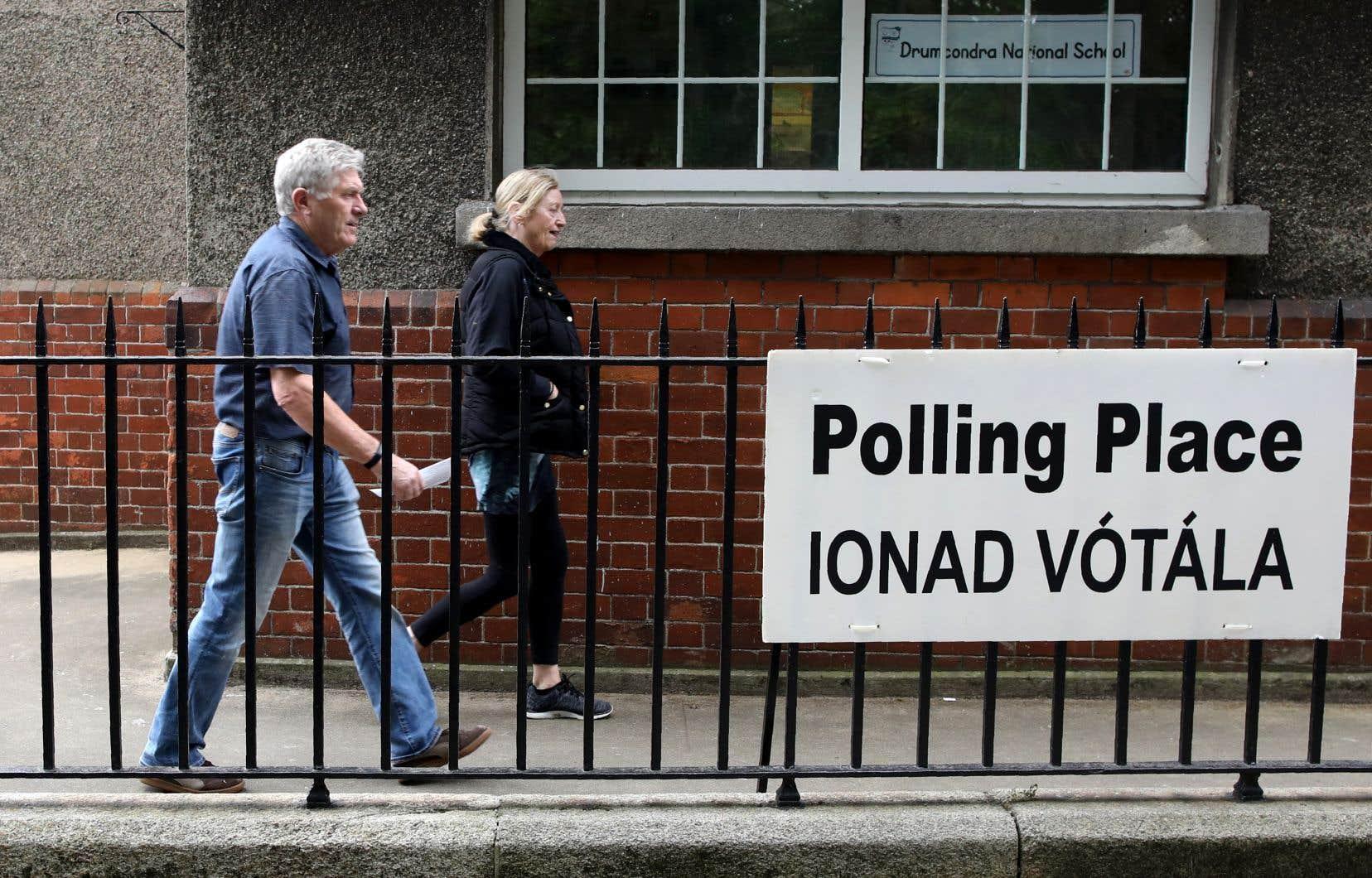 Le référendum avait lieu vendredi, en même temps que les élections européennes.