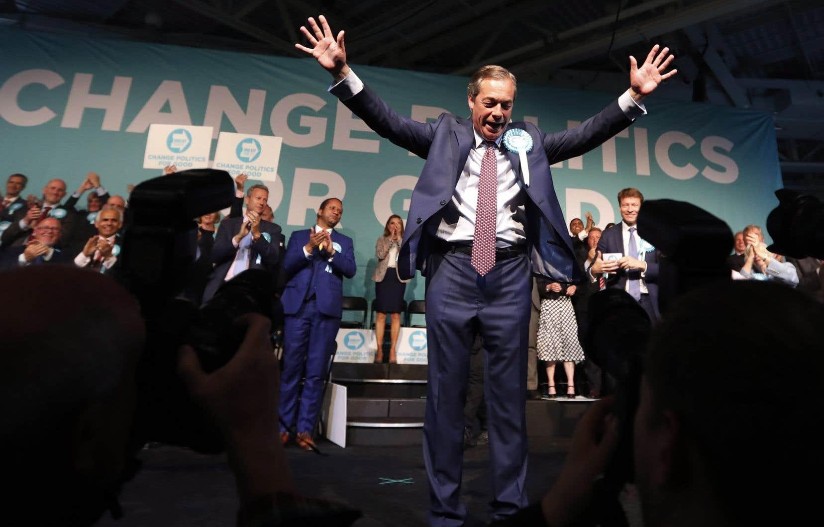 Nigel Farage s'est donné comme «objectif principal […] une réforme politique globale» du Royaume-Uni.