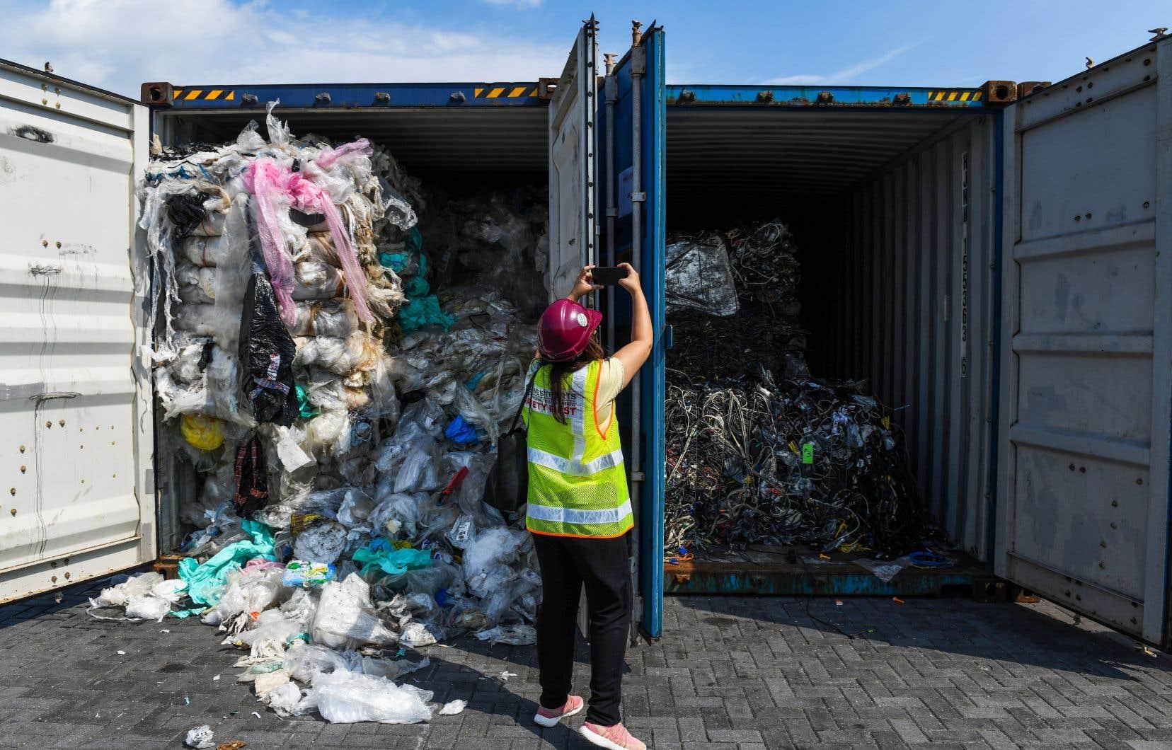 <p>Les importations de plastique par la Malaisie ont triplé depuis 2016à 870000 tonnes l'an passé.</p>