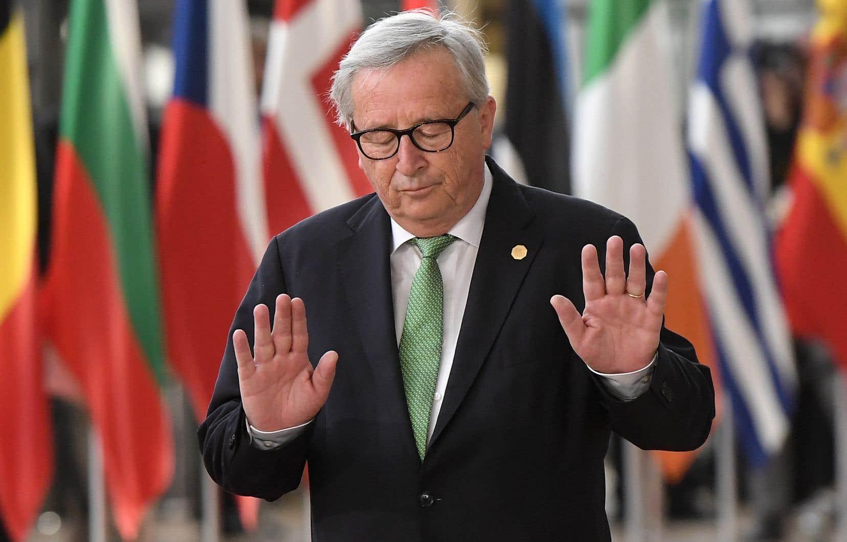 Le chef de l'exécutif bruxellois, l'ancien premier ministre luxembourgeois Jean-Claude Juncker était le «Spitzenkandidat»du PPE en 2014.