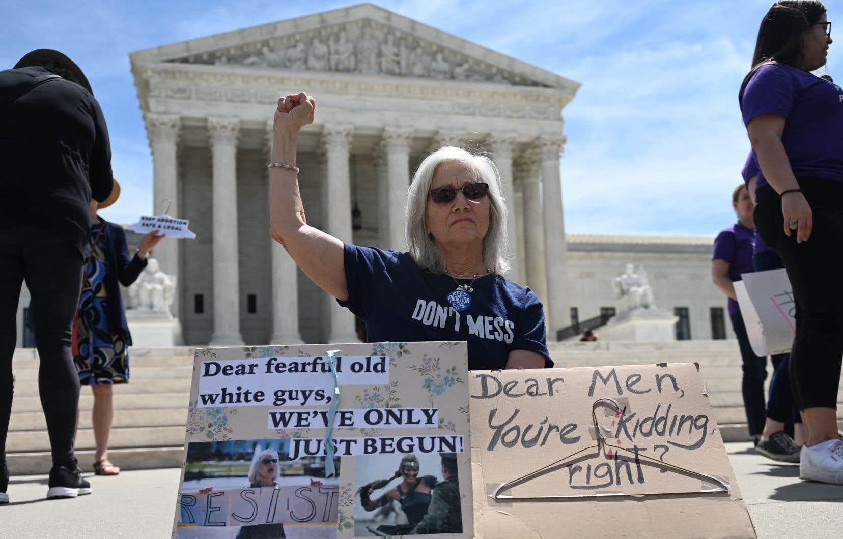 <p>En pleine offensive des États conservateurs contre le droit à l'interruption volontaire de grossesse, la Cour suprême a pris son temps avant de se prononcer.</p>