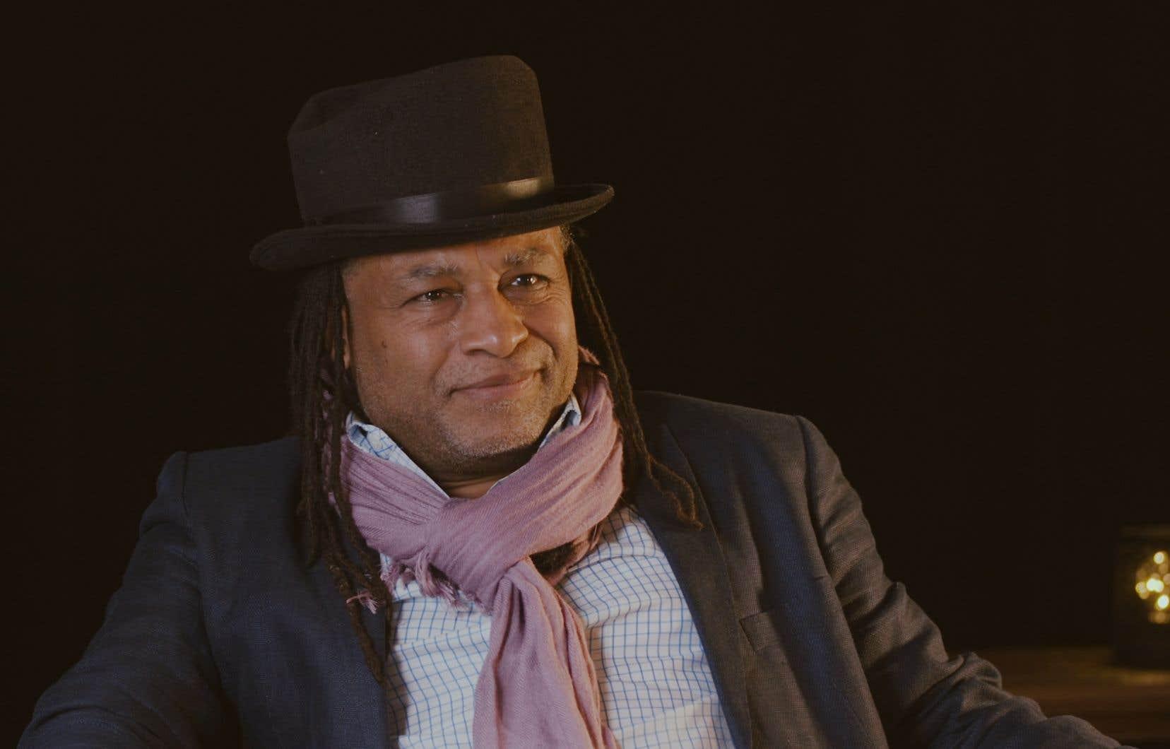 L'écrivain Rodney Saint-Éloi