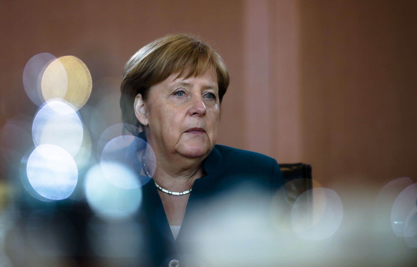 La chancelière conservatrice Angela Merkel