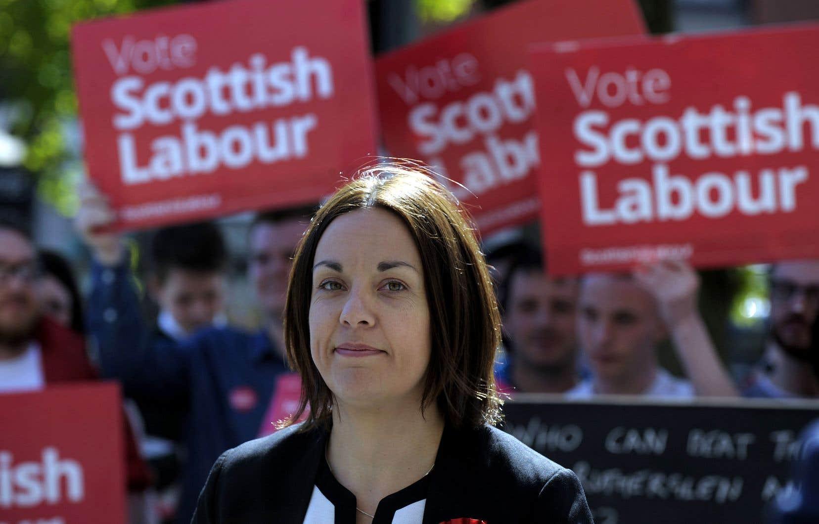 Kezia Dugdale a été chef du Parti travailliste écossais de 2015 à 2017. Elle est députée depuis 2011.