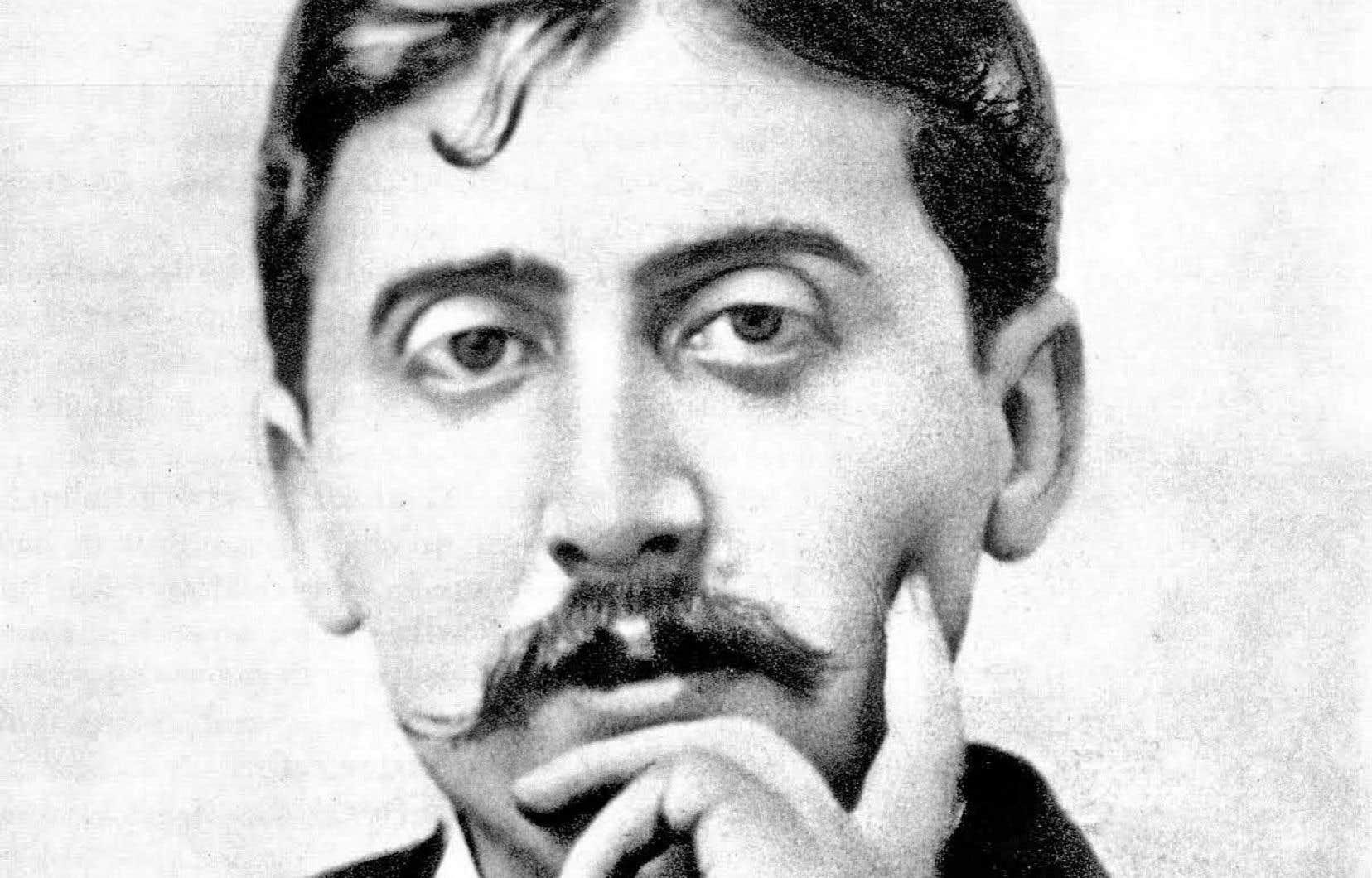 Le personnage du musicien et compositeur Georges Vinteuil a permis à Marcel Proust (notre photo) d'exposer dans son roman ses réflexions sur l'art.