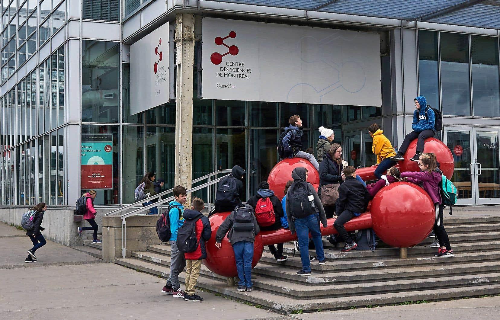 Le Centre des sciences de Montréal fait partie des 915 organismes culturels retenus par le ministère de la Culture.