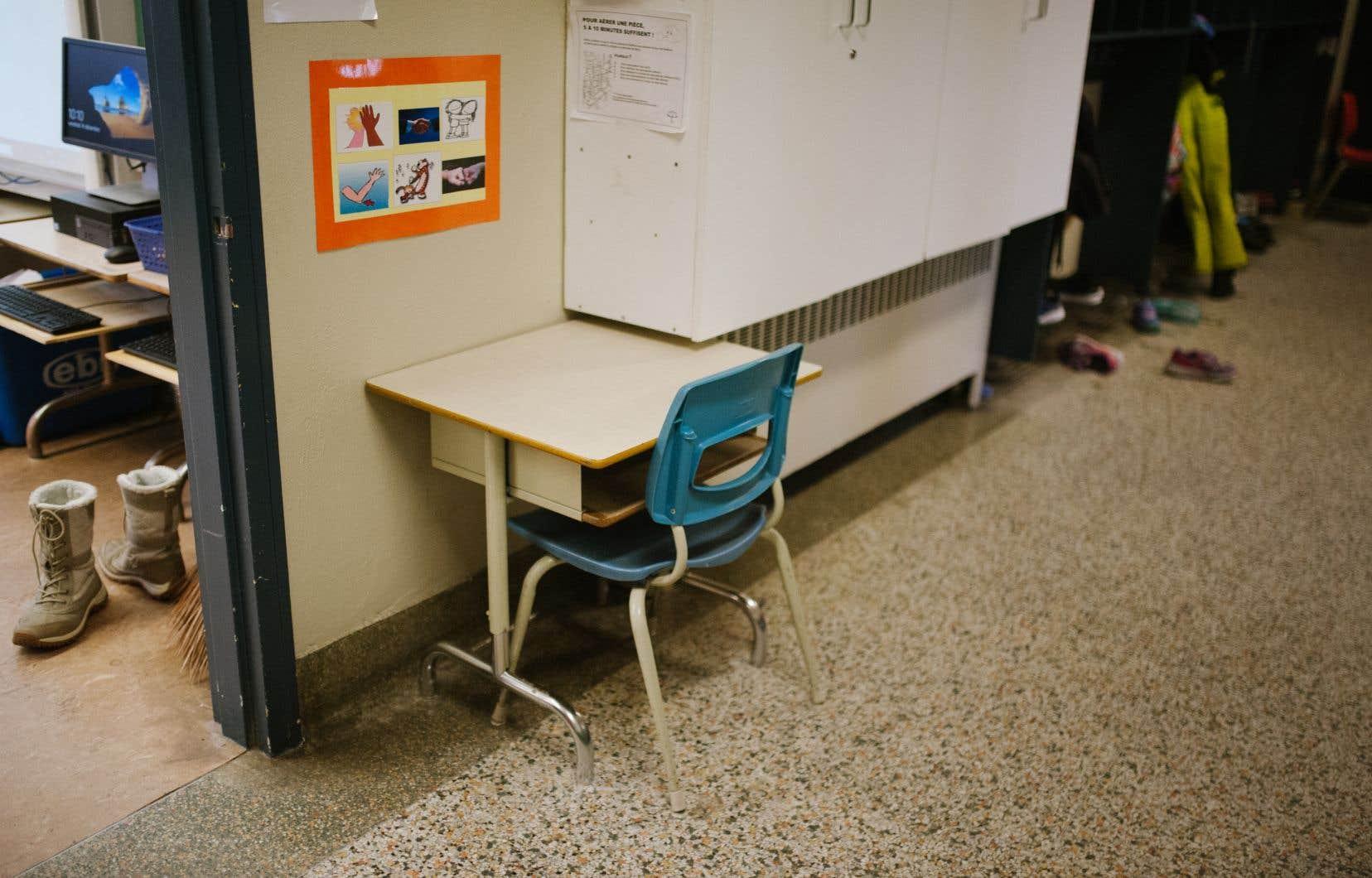 La pénurie d'enseignants est à son comble.