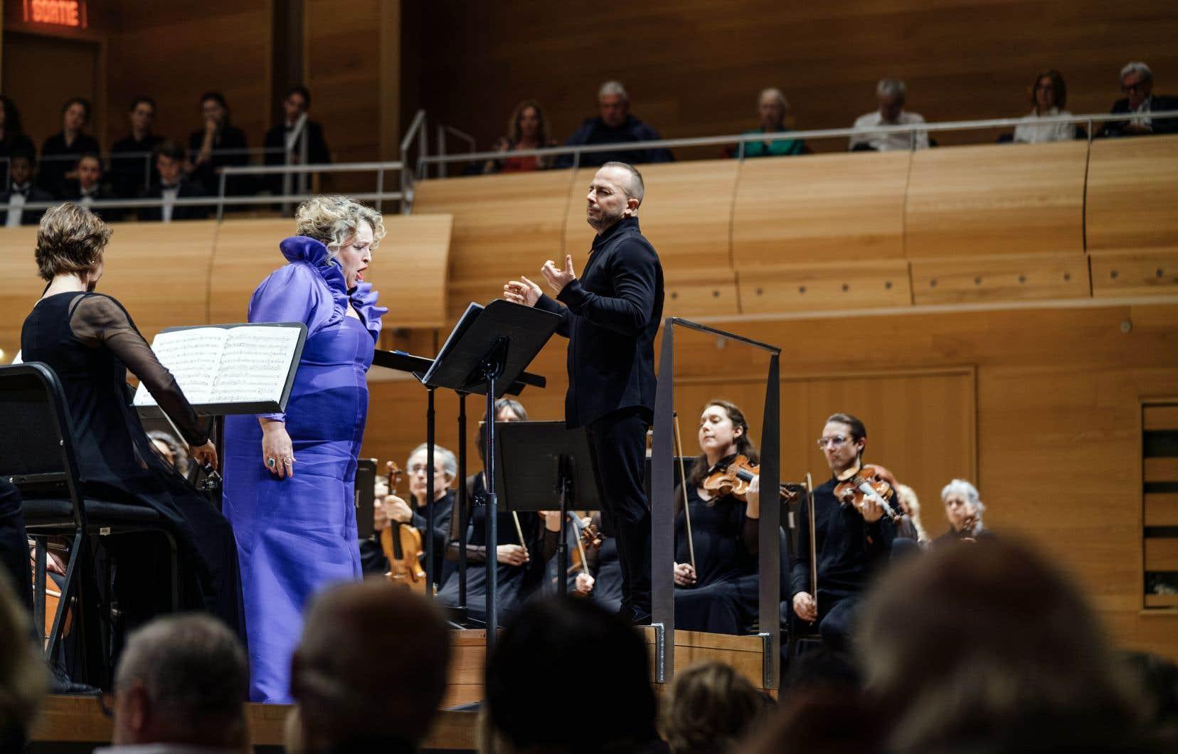La soprano Karina Gauvin et le chef Yannick Nézet-Séguin