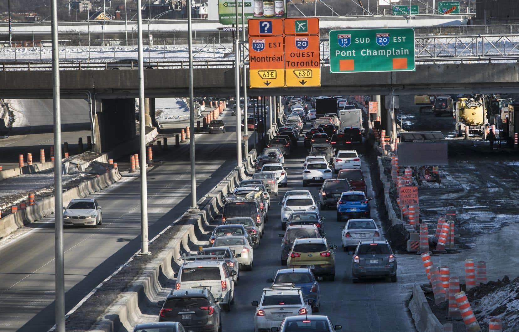 D'autres fermetures importantes perturberont la circulation automobile en fin de semaine prochaine dans l'échangeur Turcot.