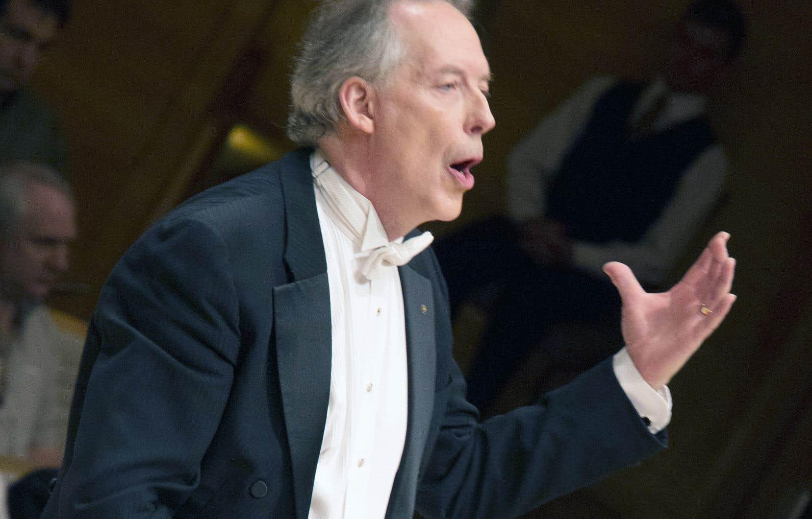 Le chef et directeur artistique du Chœur classique de Montréal, Louis Lavigueur